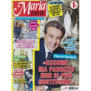 Maria Con Te -n. 24 - 21 ottobre 2018 - settimanale