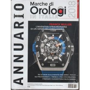 Marche di orologi 2018 Italia - Annuario - Supplemento a La Clessidra