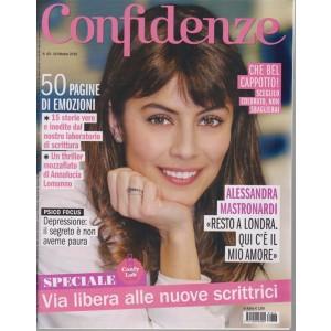 Confidenze - n. 43 - 16 ottobre 2018 - settimanale
