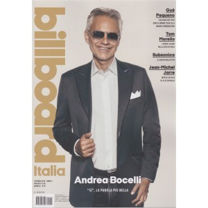 Billboard Italia - n. 10 - ottobre 2018 - mensile