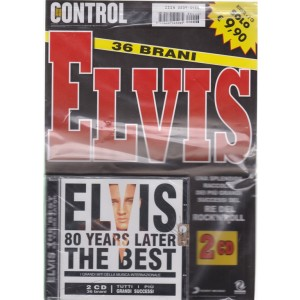Saifam Music Control Var 06 - Elvis The Best 80 Years later - n. 6 - rivista + 2CD - 36 brani