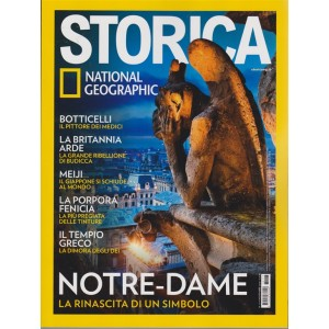 Storica - National Geographic - n. 117 - novembre 2018 - mensile