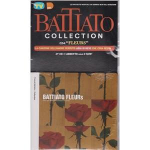 Le raccolte musicali di Sorrisi n. 19 - del 19/10/2018 - Battiato Collection cd4 Fleurs - cd + libretto