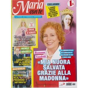 Maria Con Te - n. 25 - 28 ottobre 2018 - settimanale