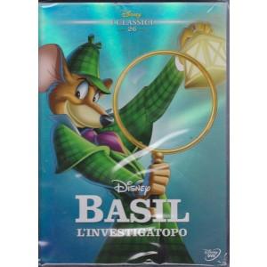 I Dvd Di Sorrisi 4 - n. 45 - settimanale - novembre 2018 - I Classici Disney - Basil l'investigatopo