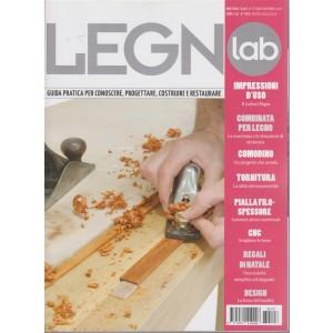 Legno Lab - n. 107 - bimestrale - ottobre - novembre 2018 -