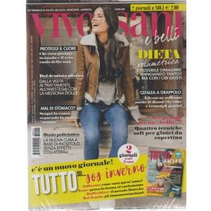 Viversani e belli - + Tutto su....sos inverno - n. 42 - 12/10/2018 - settimanale - 2 giornali