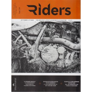 Riders - n. 117 - settembre - ottobre 2018 -