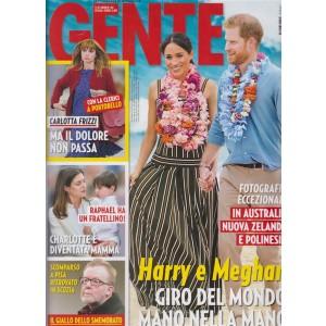 Gente - n. 44 - 3/11/2018 - settimanale