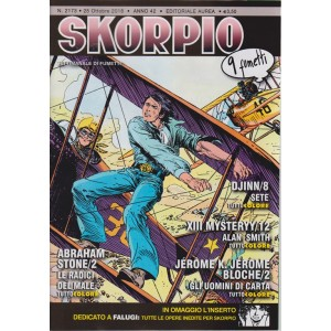 Skorpio - n. 2173 - 25 ottobre 2018 - settimanale di fumetti