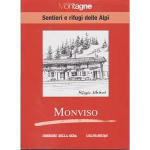 Meridiani Montagne - Sentieri e rifugi delle Alpi - Monviso - volume 21 - settimanale -