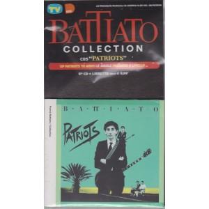 """Le raccolte musicali di Sorrisi n. 20 - del 26/10/2018 - Battiato collection 5° CD + lIbretto - """"Patriots"""""""