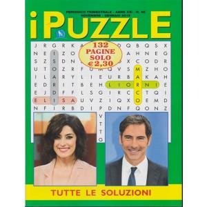 I Puzzle - n. 48 - trimestrale - novembre - gennaio 2019 - 132 pagine - Elisa Isoardi - Marco Liorni