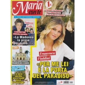 Maria Con Te - n. 26 - 4 novembre 2018 - settimanale