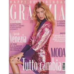 Grazia - settimanale n 38 - 6 Settembre 2018 Stella Maxwell 28 anni