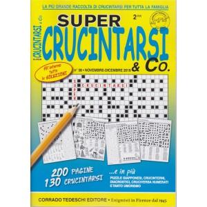 Super crucintarsi & Co. -n. 38 - novembre - dicembre 2018 - trimestrale - 200 pagine - 130 crucintarsi