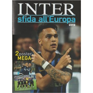 Inter sfida all'Europa - 2 Poster Mega - Ottobre 2018