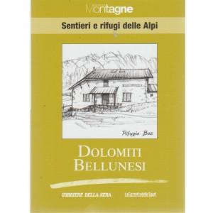 Sentieri e Rifugi delle Alpi - vol. 19 - Dolomiti Bellunesi
