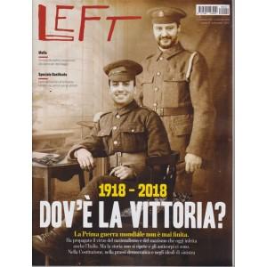 Left Avvenimenti - n. 44 - settimanale - 2 novembre 2018 - 8 novembre 2018