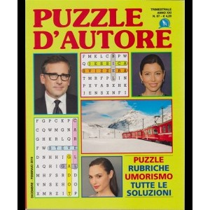 Puzzle D'autore - n. 67 - trimestrale - dicembre - febbraio 2019