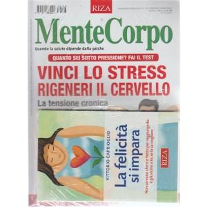 Mentecorpo - n. 136 - novembre - dicembre 2018 - bimestrale - rivista + libro  La felicità si impara -