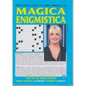 Magica Enigmistica - n. 56 - trimestrale - dicembre - febbraio 2019 -
