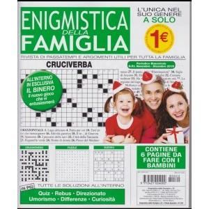 Enigmistica della famiglia - n. 22 - bimestrale - novembre - dicembre 2018