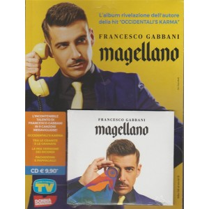 CD - Francesco Gabbani : Magellano by Sorrisi e Canzoni TV
