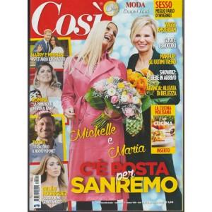 Così -quattordic.n.2 - 18 gennaio 2018 Michelle e Maria c'è posta per Sanremo