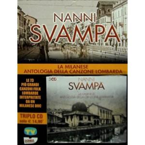 Nanni Svampa - La milanese antologia della canzone Lombarda (Triplo CD)