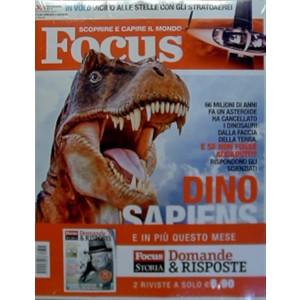 Focus speciale n.301 Ottobre 2017 - Dino Sapiens