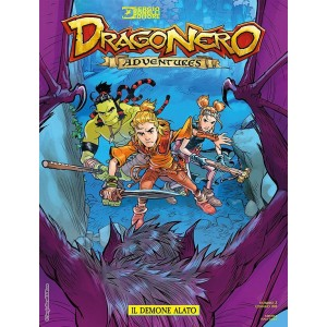 Dragonero Adventures - mensile n. 9 Gennaio 2017 -  Il demone alato