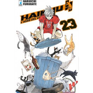 Manga: HAIKYU!! # 23 - Star Comics collana Target #76