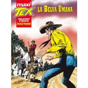 MAXI TEX N° 14 annuale La Belva Umana - 332 Pagine