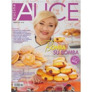 Alice Cucina - mensile n. 2 Febbraio 2018 - Cristina Lunardini
