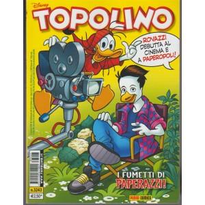 Topolino Disney - Settimanale n.3243 - 17 Gennaio 2018 - I fumetti di Paperazzi