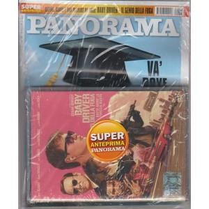 Panorama - settimanale n.5(2695) -18 gennaio 2018 + DVD Baby Driver il genio ...