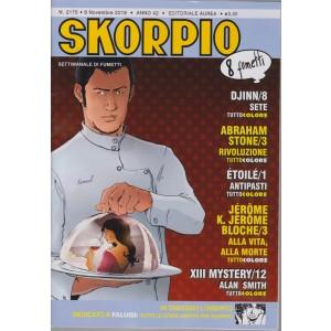 Skorpio - n. 2175 - 8 novembre 2018 - settimanale di fumetti