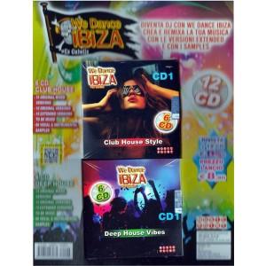 12 CD We Dance Ibiza - 6 cd Club House Style + 6 CD Deep House Vibes