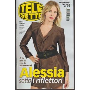 Telesette - settimanale pocket n. 5 - 28 Gennaio 2018 Alessia Marcuzzi
