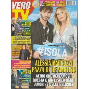 Vero Tv - settimanale n.4 - 29 Gennaio 2018 Alessia Marcuzzi pazza di De Martino
