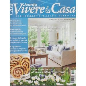 Burda Vivere la Casa - bimestrale n.1 Febbraio 2018 Arredameto, cucina, giardino
