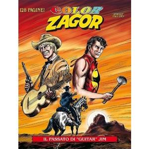 """Zagor Color n° 3 - Il passato di """"guitar"""" Jim - Bonelli Editore"""