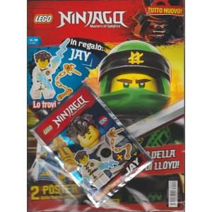 Lego Ninjago magazine - bimestrale n. 19 Gennaio 2018 + Bustina omaggio