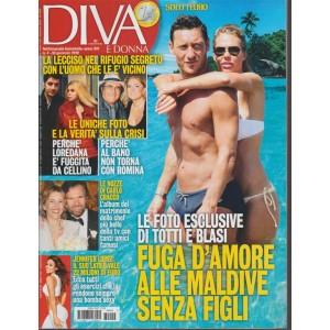 Diva e Donna - Settimanale n.4 - 30 gennaio 2018 Totti e Blasi alle Maldive soli