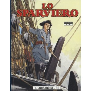 Cosmo serie blu n° 12 - Sparviero n. 1 - Il corsaro del re - Cosmo Editore
