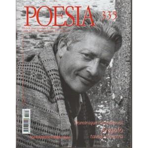 Poesia - mensile internazionale di cultura poetica n. 335 - marzo 2018