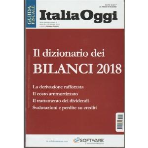 il Dizionario dei Bilanci 2018 - Guida fiscale Italia Oggi - Febbraio 2018