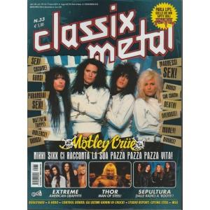 Classix Metal - bimestrale n. 33 Marzo 2018 - Motley Crue