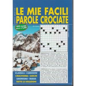 Le mie Facili Parole Crociate - bimestrale n. 59 Febbraio 2018 - Val d'Ossola